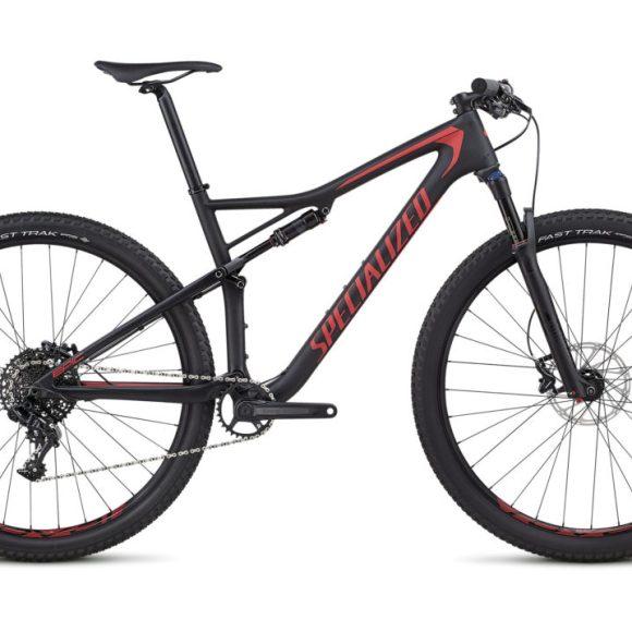 Bic. 29 Specialized Epic Comp Carbon size M negro/Flo rojo 90318-5303