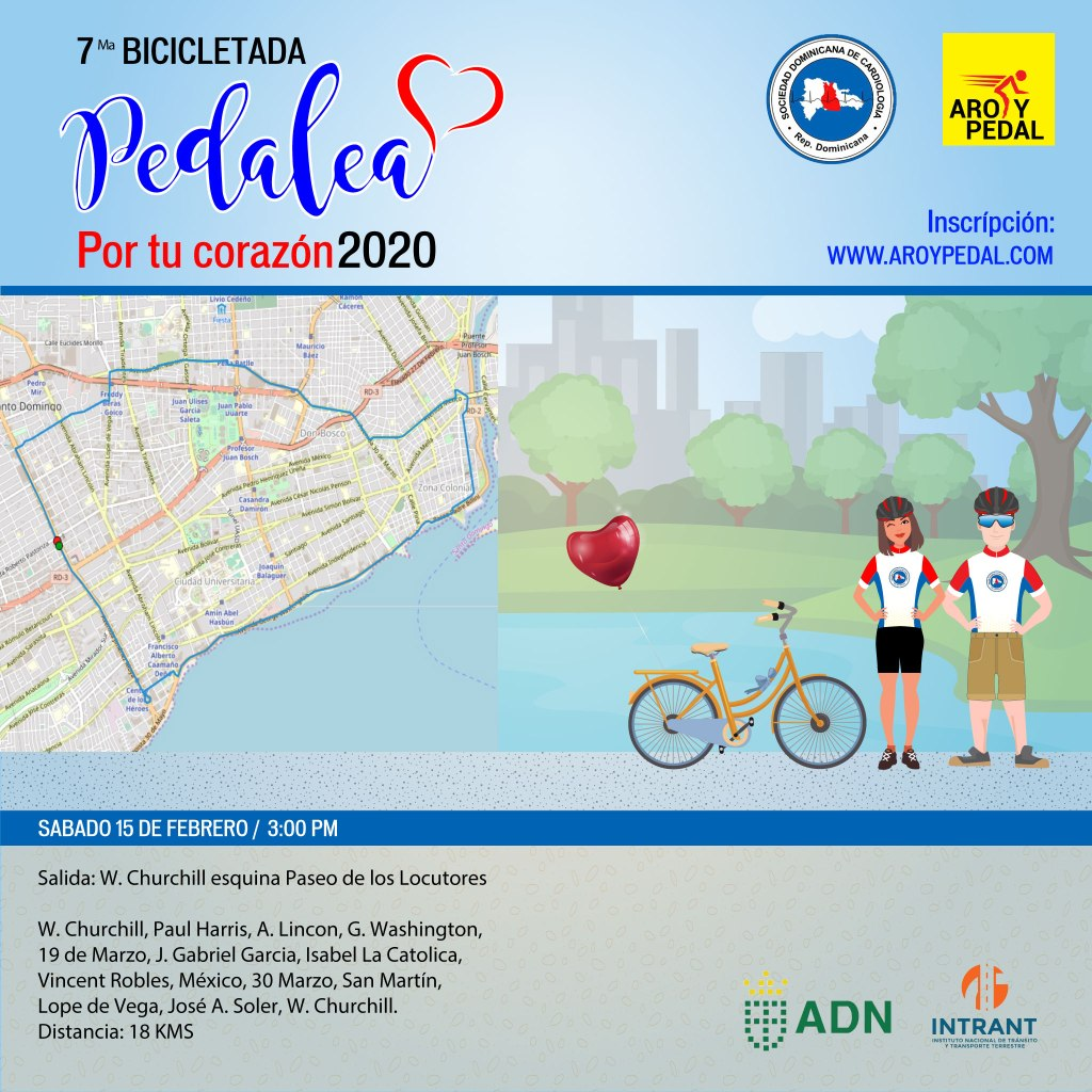 Formulario de Inscripción 7ma Bicicletada Pedalea por tu Corazón 2020