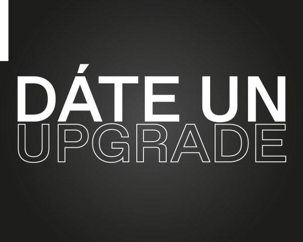Date un upgrade