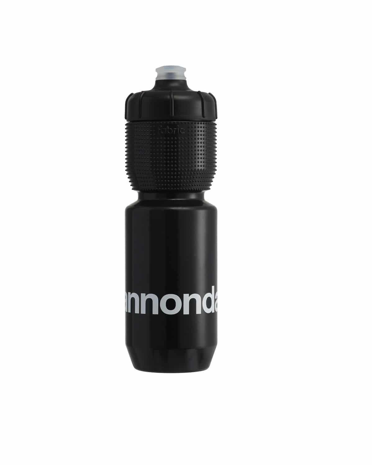 750 ml transparente//negro Botella de agua Fabric Gripper