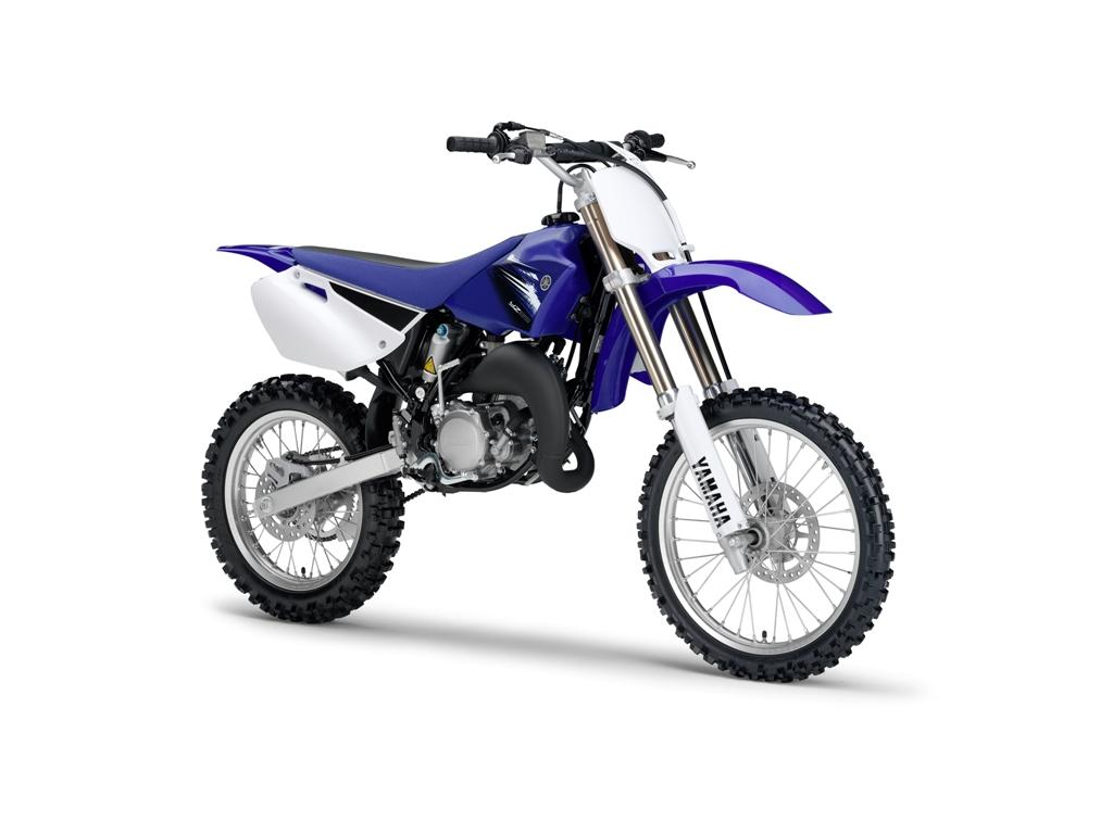 Foto Yamaha YZ 85 LW, imagen frontolateral moto