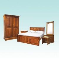 BEDROOM SET | SONATA | TEAK | Arpico Furniture