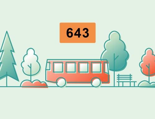 Le bus 643 est là !