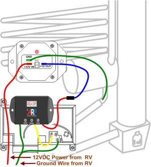 Norcold 1200 Wiring | Norcold Fans | Wire ARPrv Control
