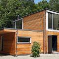 Casas de madera prefabricadas de troncos naturales este es el mismo