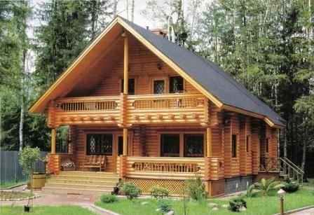 Las casas de madera y su resistencia al fuego