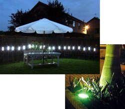 Iluminacion del patio