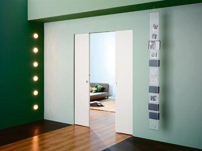 Habitaciones en casas con puertas corredizas