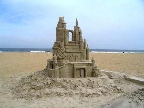 No construyan sobre arena - Aunque sea majestuoso