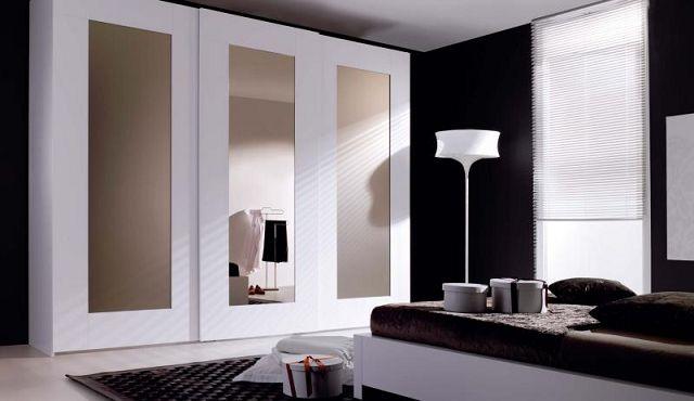 Las puertas corredizas con espejo para armarios - Armarios puertas correderas espejo ...
