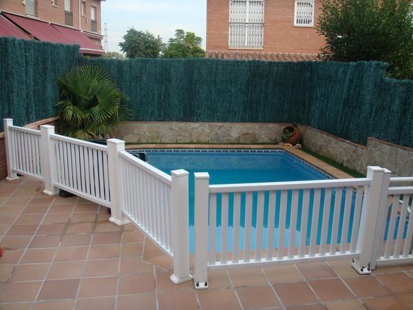 Vallas para piscinas