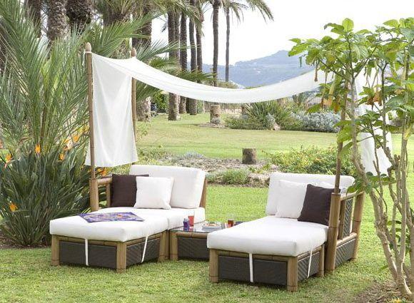 Algunas oferta de muebles para el jardin