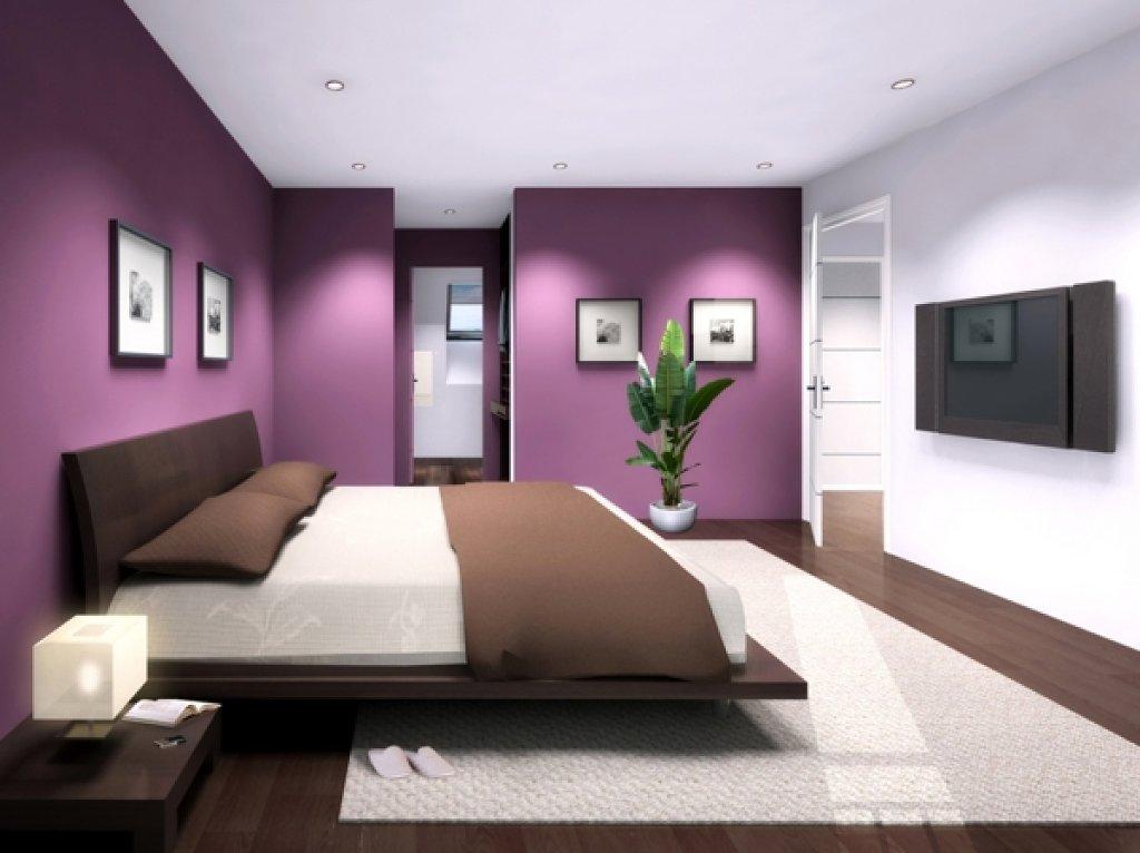 Decorar la casa utilizando el color verengena