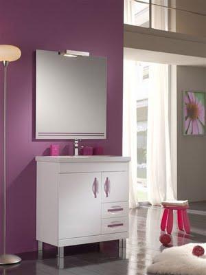 Baos de color violeta