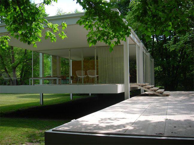 Mies Van der Rohe y su arquitectura con vidrio y acero