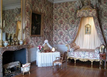 Decoracin de dormitorio al estilo gtico