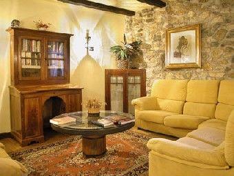 El color amarillo en la decoracin rustica