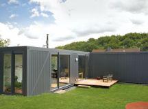 Viviendas de container & arquitectura moderna