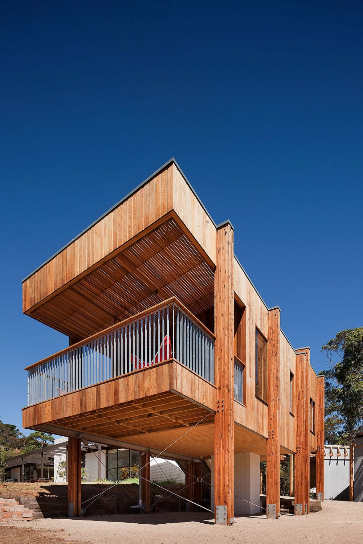 Casa en la Playa Moderna Casa de Playa