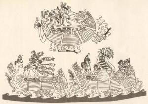 Iconografía Moche: el mar como paso al más allá