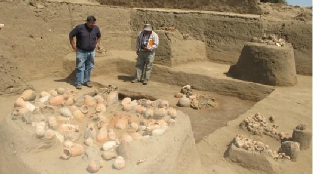 Hallan restos humanos de casi 700 años de antigüedad en huaca Chotuna-Chornancap, Lambayeque