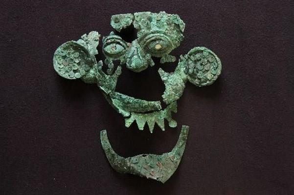 Máscara hallada en tumba Sipán es la nueva atracción de museo Sipán
