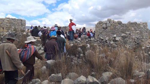 Preservarán restos arqueológicos de Tunanmarca en Jauja, Junín, Perú