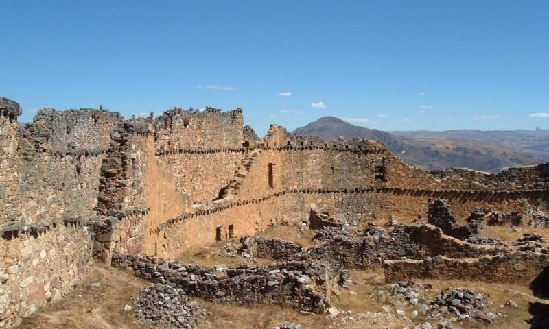 Investigan qué función cumplió sector Las Monjas de fortaleza Marcahuamachuco