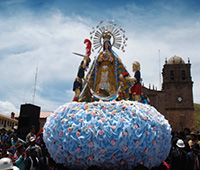 Procesión de la Virgen Inmaculada Concepción - Efraín Iturry