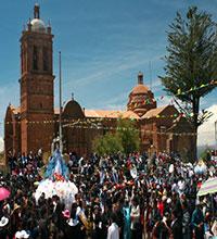 Festividad Virgen de Rosario Patrona del distrito de Pomata