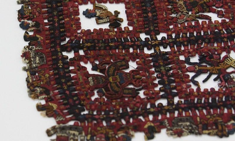 Manto Calendario Paracas se exhibe en Museo Nacional de Arqueología, Antropología e Historia del Perú