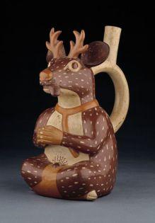 botella-ceramica-venado-mochica