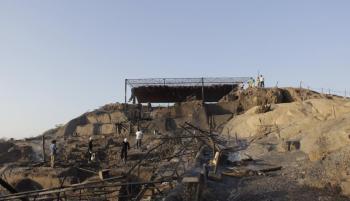 Incendio afectó gravemente el Centro Arqueológico Ventarrón