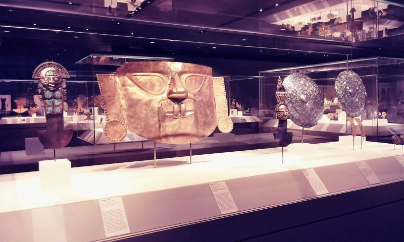 Lord of Sipan's jewels exhibited in the U.S.