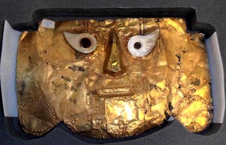 Máscara de Sicán es recuperada después de casi 20 años