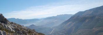 Vista sureste desde La Mella