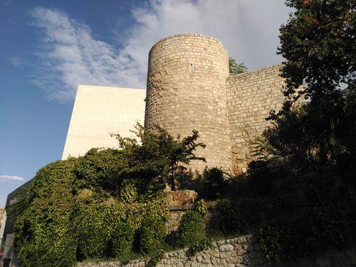 Torre cilíndrica del nuevo teatro