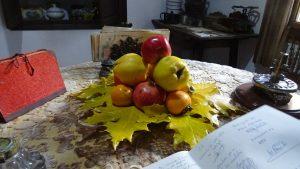 Bodegon frutos otoño molino santa ana valdepeñas de jaen