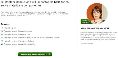 E-construmarket :: Sustentabilidade e vida útil: impactos da NBR 15575 sobre materiais e componentes