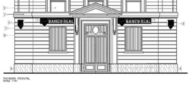 Projetos de Sinalização Externa do Banco Real