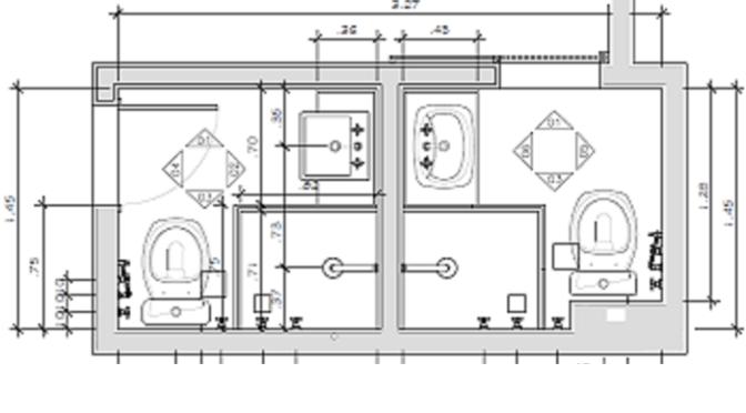 Projeto de reforma de Banheiro no Méier