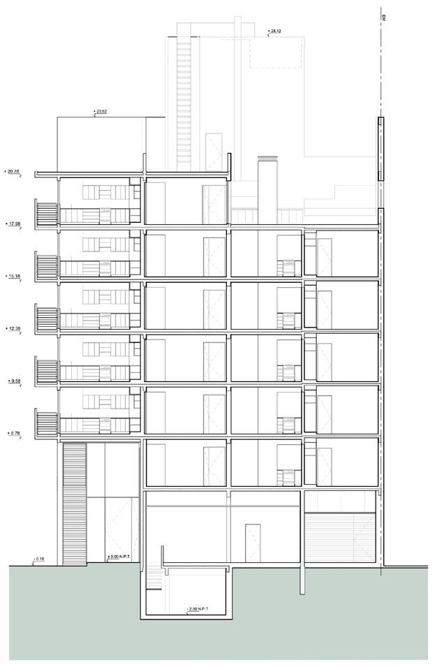 ARQUIMASTERcomar  Proyecto Edificio de viviendas Elgea