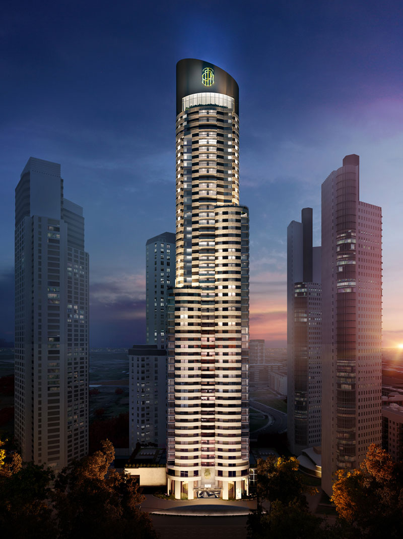 Criba recibe las gras para construir el rascacielos ms