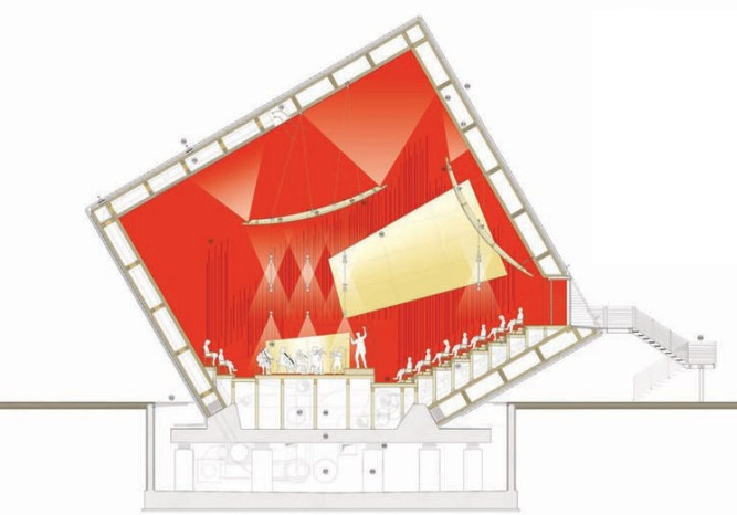 Auditorium in L'Aquila - Renzo Piano Building Workshop