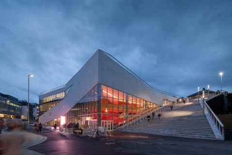 Plassen Cultural Center - 3XN