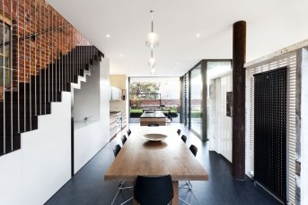 House in a Warehouse - Splinter Society Architecture