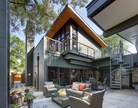 Midvale Courtyard House - Bruns Architecture
