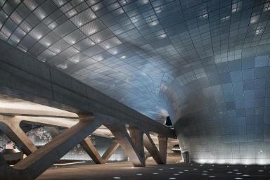 Seúl inaugura el Dongdaemun Design Plaza