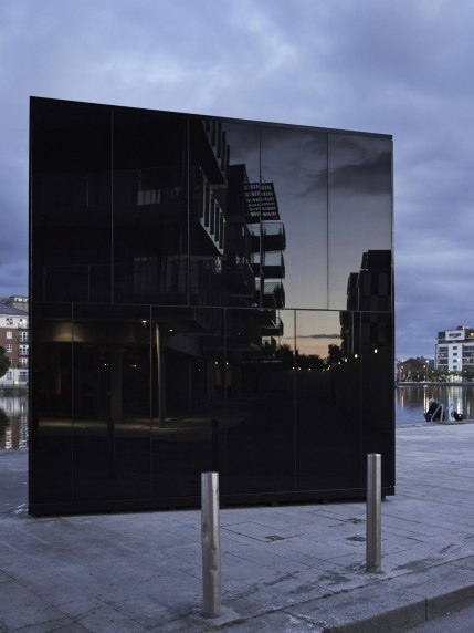 5CUBE Energy Pavilion - de Siún Scullion Architects