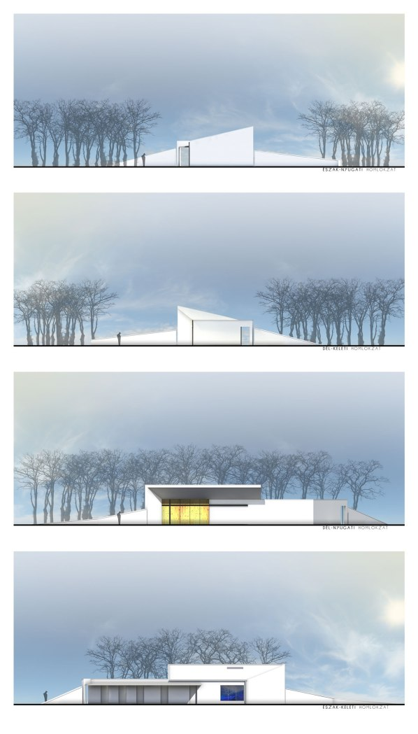 Funeral Home in Dabas - L.Art Architectural Office
